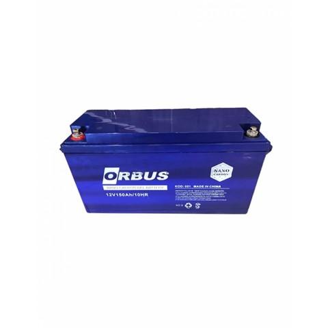 Orbus 12 Volt 150 Amper Nano Karbon Jel Akü