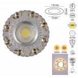 """Forlife FL-1823 5W 2,5"""" Dekoratif Cam Spotlar Beyaz"""