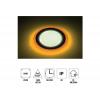 "Forlife Fl-2056a 6+3w 3,5"" Çift Renkli Led Panel Armatür Amber Beyaz"