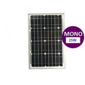 25w Monokristal Güneş Panelİ