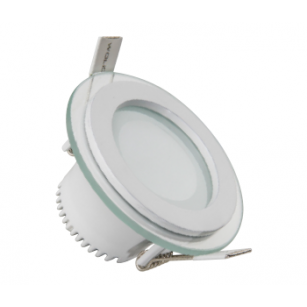 Forlife FL-2120 5W Dekoratif Yuvarlak Camlı LED Armatürler Beyaz