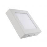 Forlife FL-2201 12W Sıva Üstü Kare LED Panel Armatürleri Beyaz