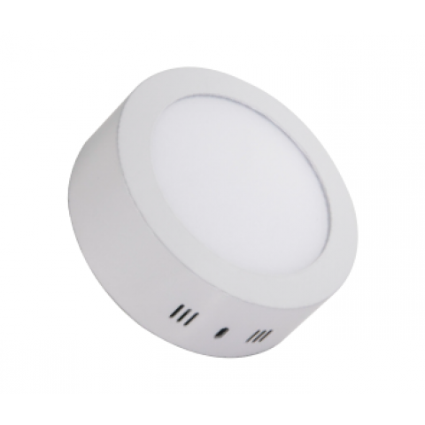 Forlife FL-2203 12W Sıva Üstü Yuvarlak LED Panel Armatürleri Beyaz